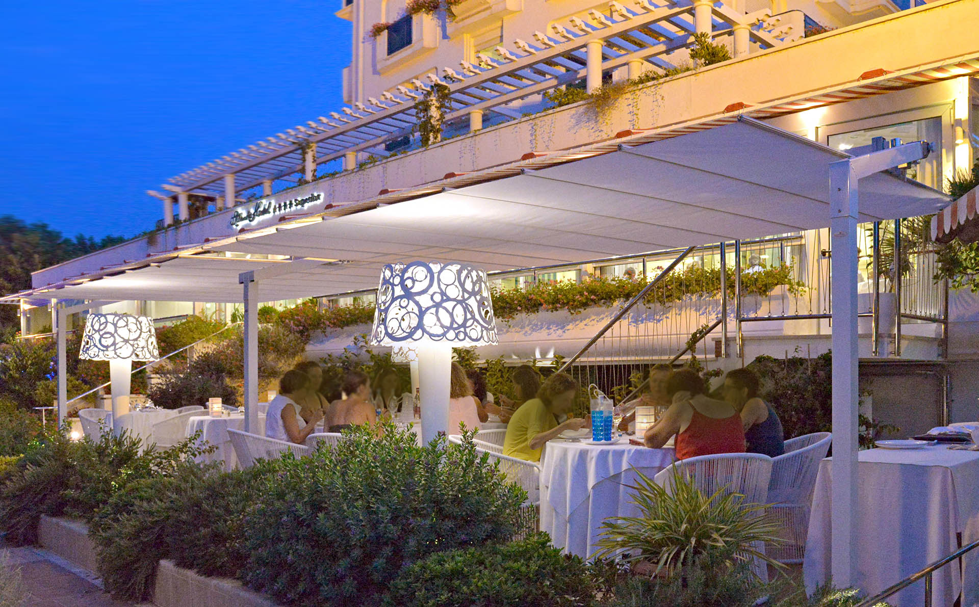 Green Restaurant Riccione | Hotel Atlantic